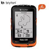 Bryton Rider 530T 中文無線連網自行車導航記錄器(含F-Mount 延伸座, ANT+二合一感測器與心律感測器)