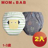 (購物車)【MOM AND BAB】科學機器人三層防水 學習褲-兩入組(6~14公斤)