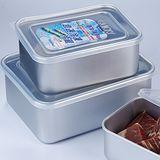 日本製AKAO 急速冷凍冷藏解凍保鮮盒(3.2L+1.8L)