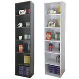 【環球】寬40公分-六層間隙書櫃/置物櫃/收納櫃(二色可選)