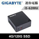 技嘉 BSi5HA-6200-04120N-特仕版(i5-6200U/4G/120G SSD)