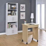 【空間生活】附抽屜電腦桌/書桌(白橡木色)