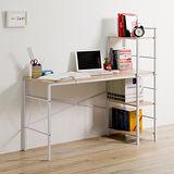 優力格家具-DIY棉花田E1多功能書架式工作桌/書桌/電腦桌