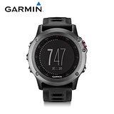 GARMIN fenix 3 全能戶外運動GPS腕錶 【太空灰】