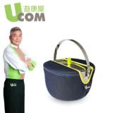 【 UCOM益康屋】牛仔系列防溢堤鍋22CM附提袋