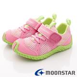 日本Carrot機能童鞋-兒茶素系列機能款-TSKC12A64粉綠-(15cm-20cm)