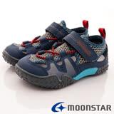日本Carrot機能童鞋-兒茶素休閒機能款-KC17A5黑灰-(15cm-20cm)