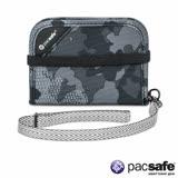 Pacsafe RFIDSAFE V50 防盜短錢夾(迷彩灰)