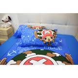 HO KANG 授權航海王雙人床包被套四件組-喬巴 GO GO GO