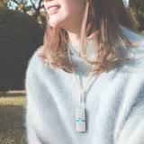 日本IONION 超輕量隨身空氣清淨機 專用吊飾鍊-珍珠款