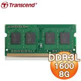 Transcend 創見 8G DDR3L 1600 NB 筆記型記憶體《低電壓1.35V版》