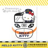 〔小禮堂〕Hello Kitty x 台鐵 明信片《白.站長.火車.九份》新太魯閣號限定