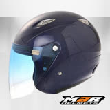 【M2R M390 素色】3/4罩安全帽|3D立體內襯全可拆| 抗UV鏡片│散熱設計│小帽體