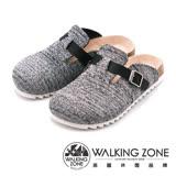 WALKING ZONE 休閒鞋懶人拖鞋 女鞋 灰(另有黑、藍)