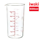 【iwaki】玻璃微波量杯500ml