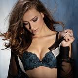 【黛安芬】艾聖思極尚美型罩杯胸罩B-E內衣(魅惑黑)