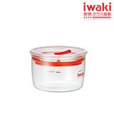 【iwaki】玻璃微波密封罐 200ml