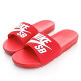 NIKE 男鞋 拖鞋 紅白 BENASSI SOLARSOFT SB - 840067601