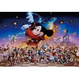 【進口拼圖】迪士尼 DISNEY-米奇的魔法派對 透明拼圖 500片 DSG-500-471