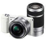 SONY A5100Y 16-50mm+55-210mm雙鏡組(公司貨)-送32G 高速卡+專用電池+座充+專用相機包+大吹球清潔組+保護貼+讀卡機