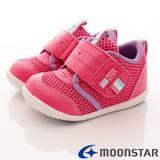 日本Carrot機能童鞋-透氣護踝款-B722粉-13cm-14.5cm