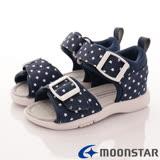日本Carrot機能童鞋-HI系列星星涼鞋款-MSCC21805藍-(15cm-20cm)
