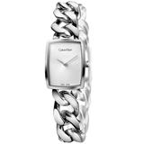 瑞士 Calvin Klein 造型款不鏽鋼手鍊式女錶 (K5D2S126)