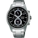 SEIKO 精工 SOLAR 太陽能計時時尚腕錶-42mm/V198-0AC0D