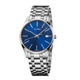 瑞士 Calvin Klein 時光系列藍寶石鋼帶男錶 (K4N2114N)