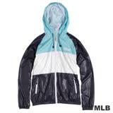 MLB-經典款連帽薄風衣外套-深藍(男)