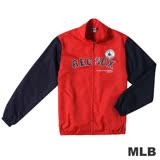 MLB-波士頓紅襪隊運動薄風衣外套-紅(男)