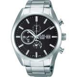 ALBA 經典時尚三眼計時腕錶-YM92-X262D(AF8T85X1)