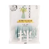 JINGQI 日曬米豆簽-藍藻麵+薑油醬120G