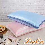 LooCa蠶絲極眠60顆超釋壓獨立筒枕1入(共4色)