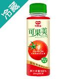 可果美100%蕃茄蘋果汁290ML/瓶