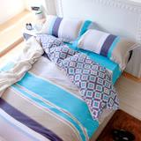 鴻宇HongYew 《托曼斯》純棉 雙人四件式薄被套床包組