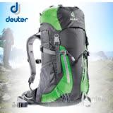 【德國 Deuter】Climber 22L (Alpine Back System)拔熱登山背包.休閒.健行.露營.雙肩背包.嬌小女生可揹 36073 綠黑