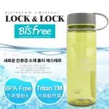【樂扣樂扣】Bisfree系列柔彩樂活水壺/650ML(蘋果綠)