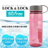【樂扣樂扣】Bisfree系列柔彩樂活水壺/650ML(櫻花粉)