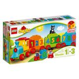 【LEGO 樂高積木】 Duplo 得寶幼兒系列-數字火車 LT-10847