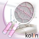 【歌林Kolin】分離式充電電蚊拍KEM-SH06-粉紅色