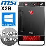 MSI Nightblade X2B-222TW【鐵血悍馬】桌上型電競電腦 ( i7-6700/16G/1T/256G SSD/GTX1070 8G/W10)