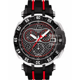 TISSOT 天梭 T-Race MotoGP 2016 限量賽車計時手錶-黑/45mm T0924172720700