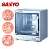 【台灣三洋SANYO】雙層微電腦烘碗機 /SSK-560
