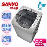 【SANYO台灣三洋】媽媽樂6.5kg輕巧型單槽洗衣機/ASW-87HT