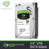 Seagate 希捷 新梭魚 2TB 7200轉 64M 3.5吋 SATA3 內接硬碟 (三年保) / ST2000DM006 2T
