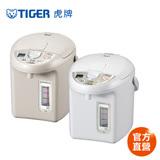 【TIGER 限量福利品】日本製 3.0L超大按鈕電熱水瓶(PDN-A30R)卡吉色