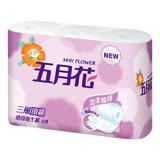 【五月花】三層捲筒衛生紙(200張x6捲x16串)/箱