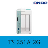 QNAP 威聯通 TS-251A-2G 2Bay NAS