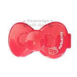 下殺↘69〔小禮堂〕Hello Kitty 造型印泥盒《小.紅.大臉.蝴蝶結型》紅色印泥